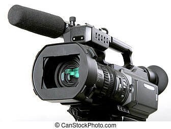 dv camcorder - stand black mini-dv camcorder with 3ccd...