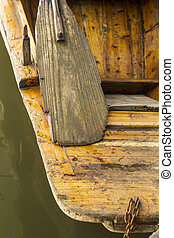 Weathered  Wooden Paddle