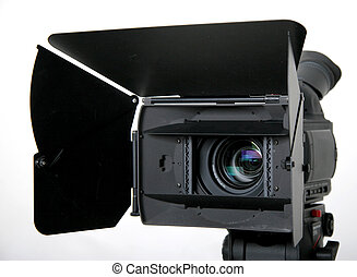stand hd-camcorder - black high-definition camcorder with...