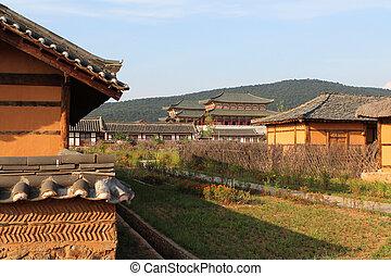 ethnographic park - Ethnographic park, North Korea,...
