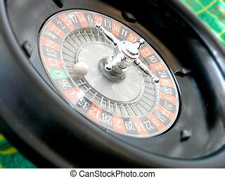 Rien ne vas plus - A close up of a Roulette game
