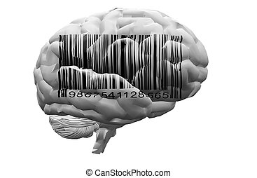 Barcode on brain