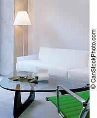 Modern Living Room Corner
