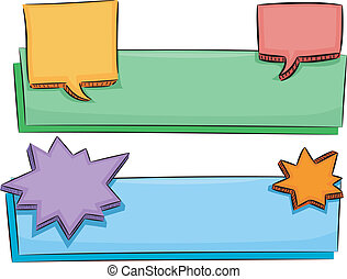 Speech Balloons Banner