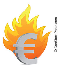 euro crisis illustration
