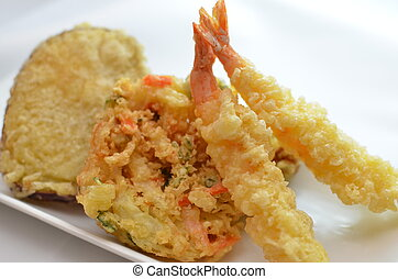 tempura - This is a picture of tempura