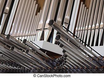 Organ tubes