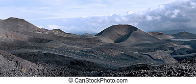 Secondary craters of Mount Etna