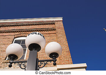 Old Police Station - A histoiric old timey style police...