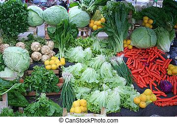 greengrocery at bazaar