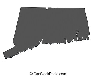 Drawing Of Connecticut USA Map ConnecticutUSA Outline Map - Connecticut on map of usa