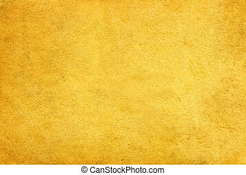 Yellow paper.  - Old paper on white background