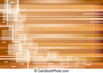 Abstract stripes gold and brown