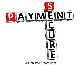 3D Secure Payment Crossword