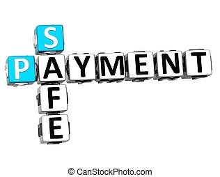 3D Safe Payment Crossword