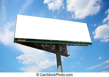big publicity board