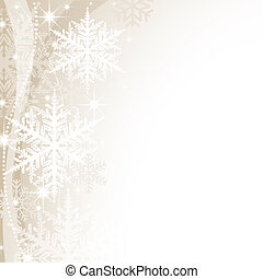 Christmas Background - Abstract Xmas Illustration, Vector