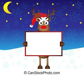 happy red nose Reindeer deer - rednose happy red nose...