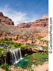 Desert Oasis - Waterfalls in the Havasu area