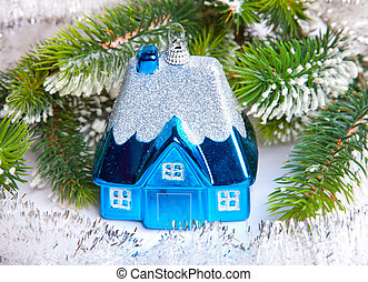 toy small house - New Year's dream of own house