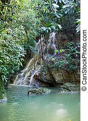 Jamaica.  waterfalls