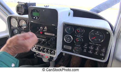 little sport aircraft console