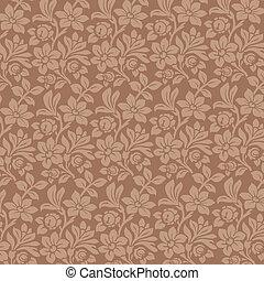 Floral Ornamen background. Vintage Floral pattern....