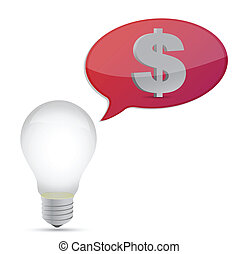 lightbulb money idea