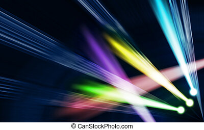 light colored spotlights - light colored spotlights on a...