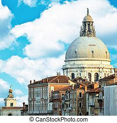 Santa Maria Della Salute Church at Grand canal Venice