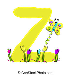 Alphabet Spring has Sprung Z - Z, in the alphabet set Spring...
