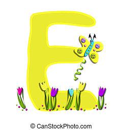 Alphabet Spring has Sprung E