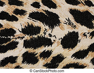 Fabric black and yellow background