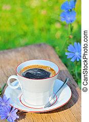 achicoria, café