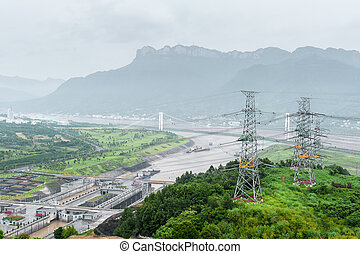 View of the Three Gorges Dam