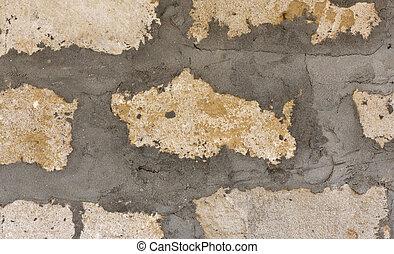 cinder block - oldest building of cinder block