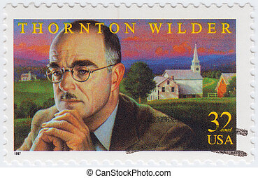 USA - CIRCA 1997 : stamp printed in USA shows Thornton...