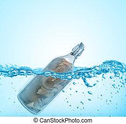 Elephant Filled In Bottle