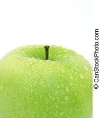 水, 低下, アップル
