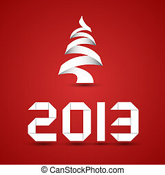 New 2013 Year Origami Style