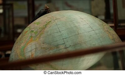 Old Globe - The old Globes rotates