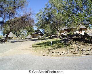 Daan Viljoen Park. Bungalows - Daan Viljoen Park in Namibia....