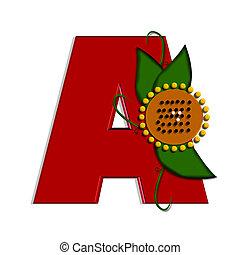 alfa, girasole