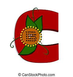alfa,  c, girasole