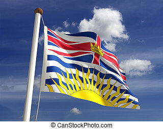 British Columbia flag Canada - British Columbia flag British...