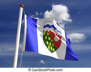 Northwest Territories flag Canada