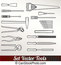 Craft icons - Hand tools