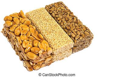 Sesame Seed Brittle - kozinaki, can