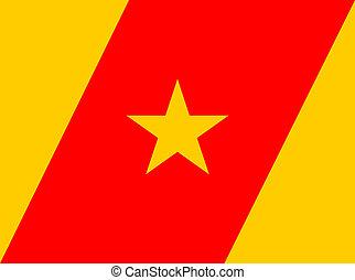 Amhara people flag