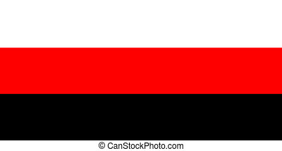 Erzya people flag - very big size Erzya Mordvins people flag